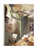 The New Yorker Cover - November 3  1956