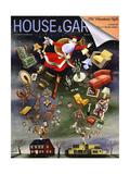 House & Garden Cover - December 1938