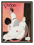 Vogue Cover - January 1913 Giclée premium par George Wolfe Plank