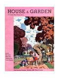 House & Garden Cover - October 1932