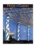 House & Garden Cover - June 1924