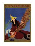 Vanity Fair Cover - August 1915 Giclée premium par George Wolfe Plank
