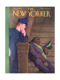 The New Yorker Cover - March 19  1938