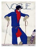 Vogue Cover - December 1927