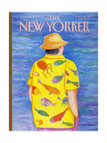 The New Yorker Cover - June 13  1988