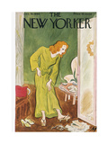 The New Yorker Cover - January 26  1946
