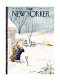 The New Yorker Cover - January 14  1950