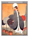 Vogue Cover - February 1914 Giclée premium par George Wolfe Plank
