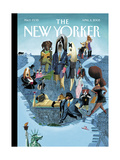 The New Yorker Cover - April 11  2005