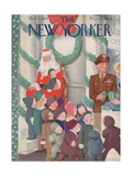 The New Yorker Cover - December 2  1944