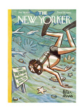 The New Yorker Cover - January 28  1956