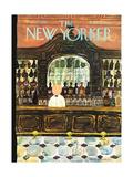 The New Yorker Cover - September 25, 1965 Giclée premium par Laura Jean Allen