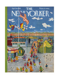 The New Yorker Cover - April 18  1959