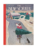 The New Yorker Cover - December 19  1942