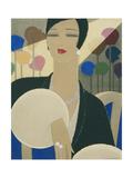 Vogue - March 1928 Giclée premium par Harriet Meserole