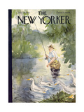 The New Yorker Cover - July 25  1942