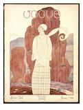 Vogue Cover - January 1924