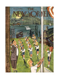 The New Yorker Cover - August 21  1943