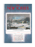 The New Yorker Cover - December 25  1954