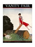 Vanity Fair Cover - March 1926 Giclée premium par André E. Marty