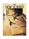 The New Yorker Cover - February 1  1964