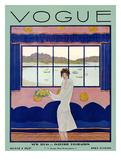Couverture de Vogue, août 1927 Giclée premium par Georges Lepape