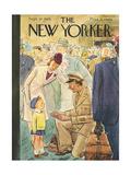The New Yorker Cover - September 29  1945