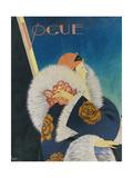 Vogue - January 1927 Giclée premium par George Wolfe Plank