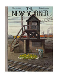 The New Yorker Cover - March 26  1960