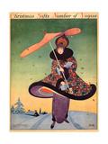 Vogue Cover - December 1913 Giclée premium par George Wolfe Plank