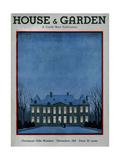 House & Garden Cover - December 1931 Giclée premium par André E. Marty