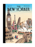 The New Yorker Cover - April 20  2009