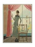Vogue - March 1923 Giclée premium par Harriet Meserole