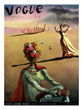 Vogue Cover - June 1939 - Dali's Dreams Giclée premium par Salvador Dalí