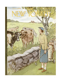 The New Yorker Cover - June 11  1955