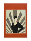 Vogue - March 1927 Giclée premium par Harriet Meserole
