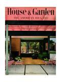 House & Garden Cover - February 1952