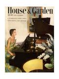 House & Garden Cover - July 1950 Giclée premium par Horst P. Horst