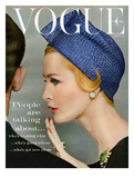 Vogue Cover - April 1959 - Talking Points