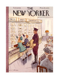 The New Yorker Cover - February 26  1938