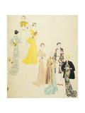 Vogue - May 1934 Giclée premium par Harriet Meserole