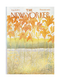 The New Yorker Cover - August 26  1972