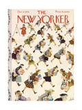 The New Yorker Cover - December 8  1945