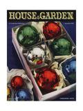 House & Garden Cover - December 1936