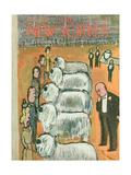The New Yorker Cover - February 14, 1948 Giclée premium par Abe Birnbaum