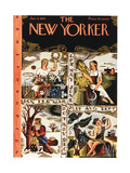 The New Yorker Cover - January 4  1941