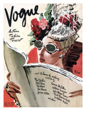 Vogue Cover - July 1941 - Summer Reading