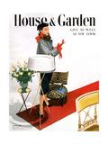 House & Garden Cover - October 1950 Giclée premium par Horst P. Horst