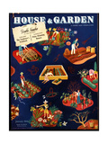 House & Garden Cover - January 1941