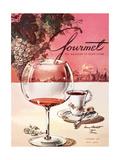 Gourmet Cover - October 1953